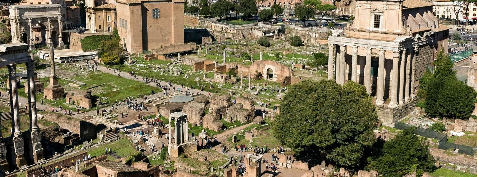 Blick auf das Forum Romanum