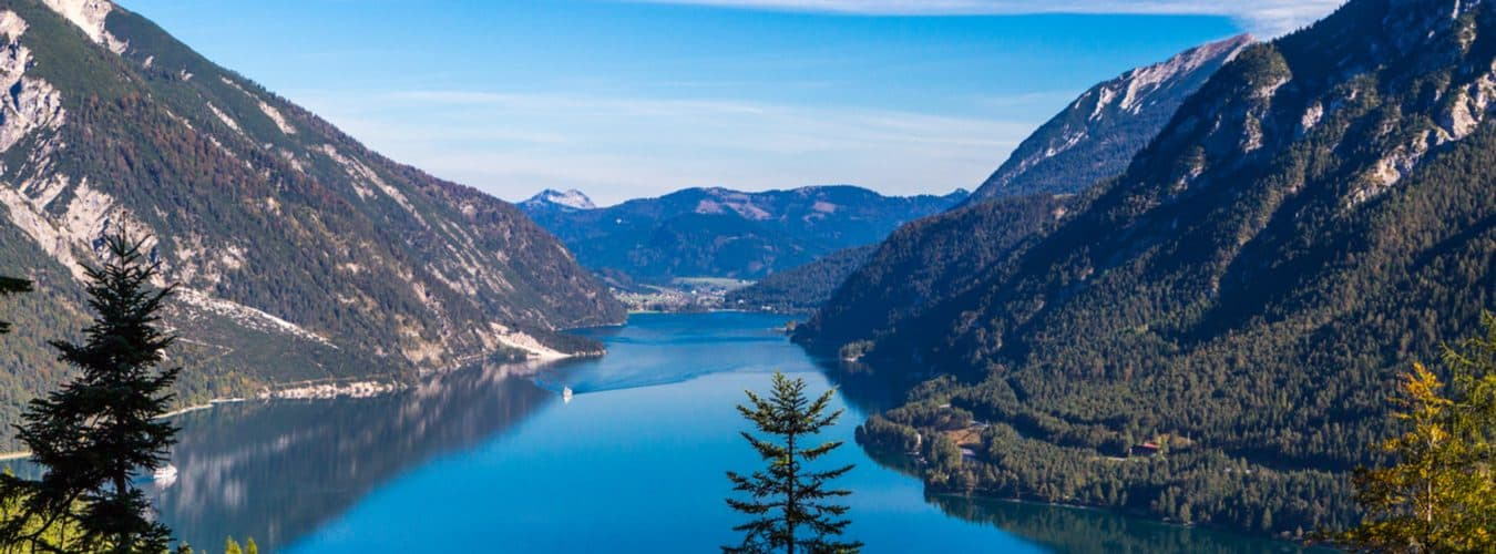 Blick auf den Achensee in Tirol