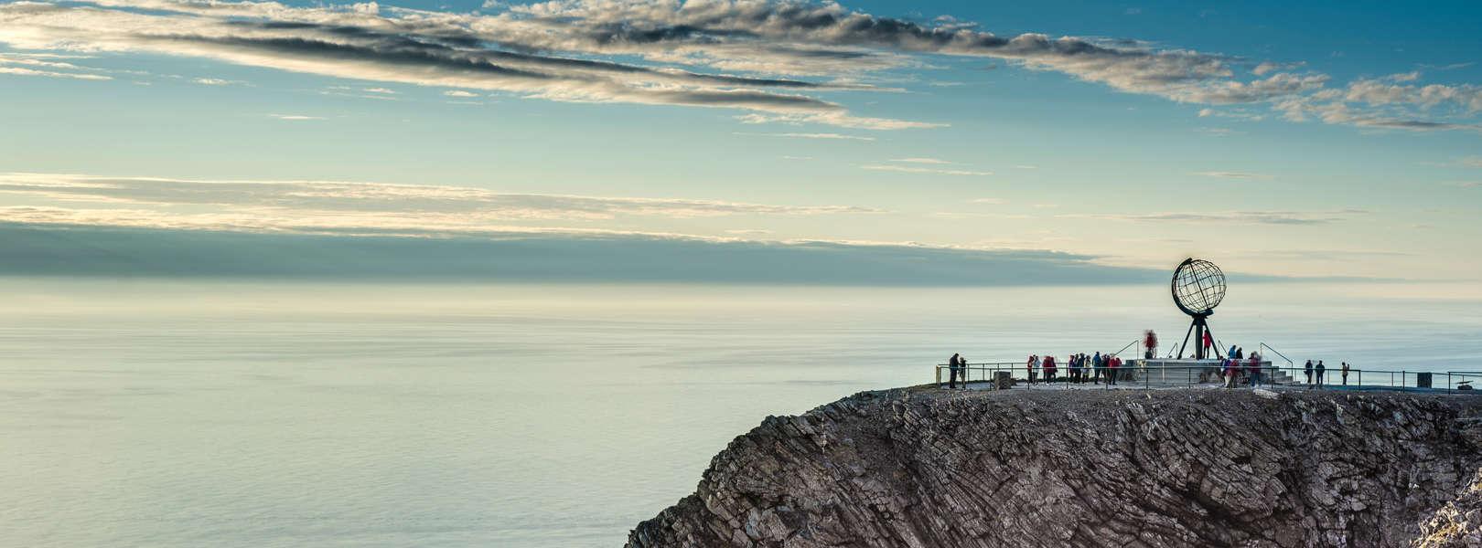 Blick auf den Nordkap in Norwegen