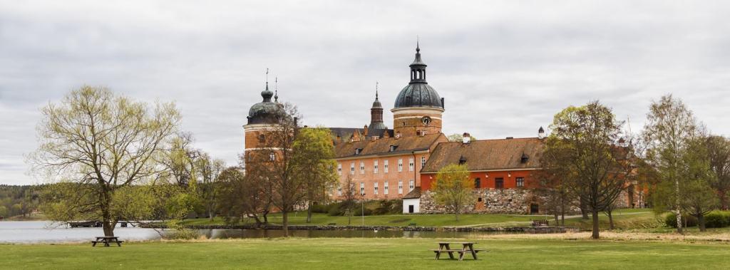 Blick auf das Schloss Gripsholm