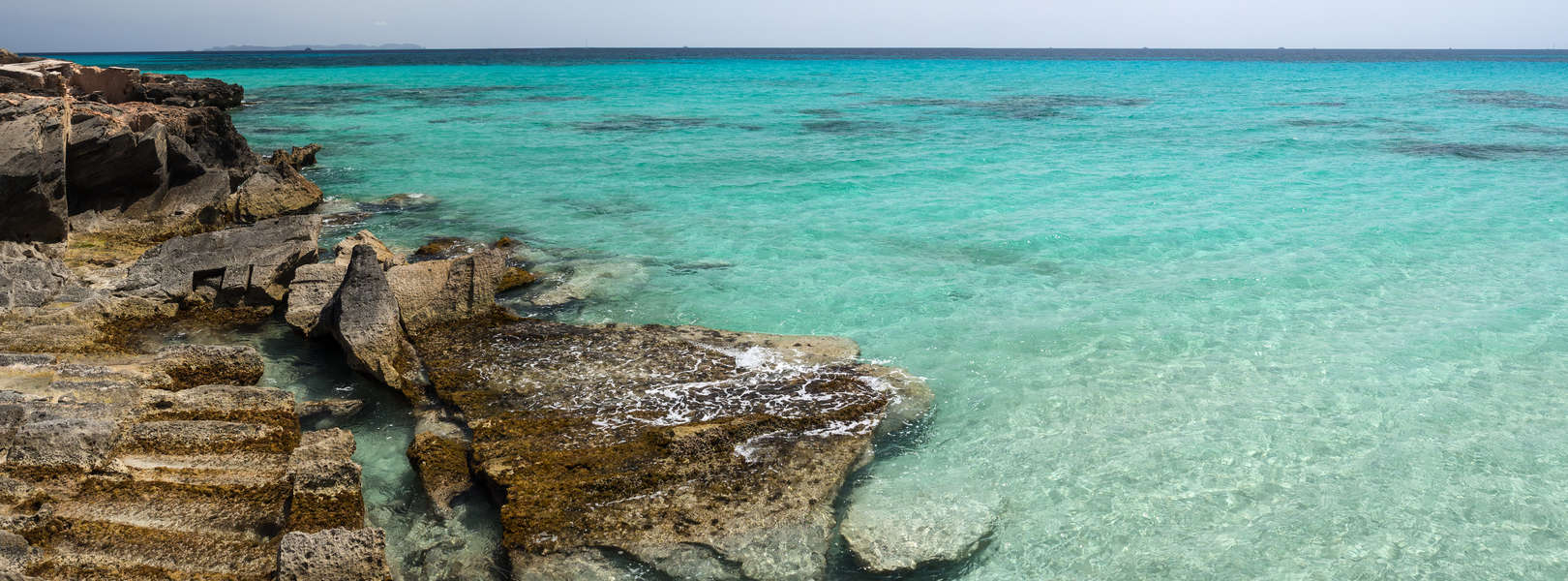 Der Naturstrand Platja es Trenc im Süde auf Mallorca