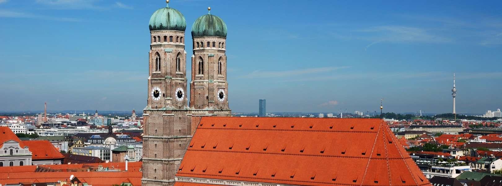 Blick auf die Frauenkirche München