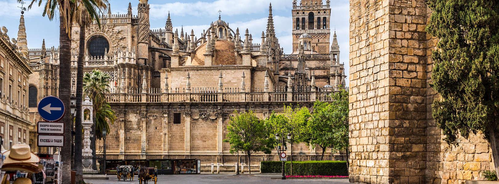 Die Kathedrale von Sevilla in Andalusien