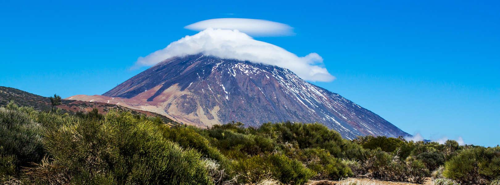 Blick über den Nationalpark Teide auf Teneriffa