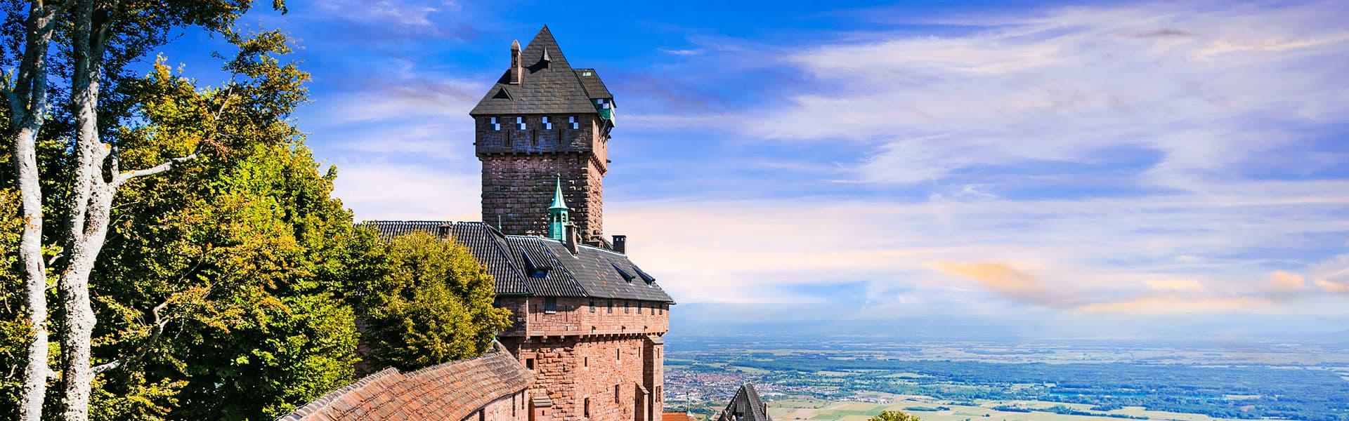 Märchenhaft - Die Hochkönigsburg im Elsass