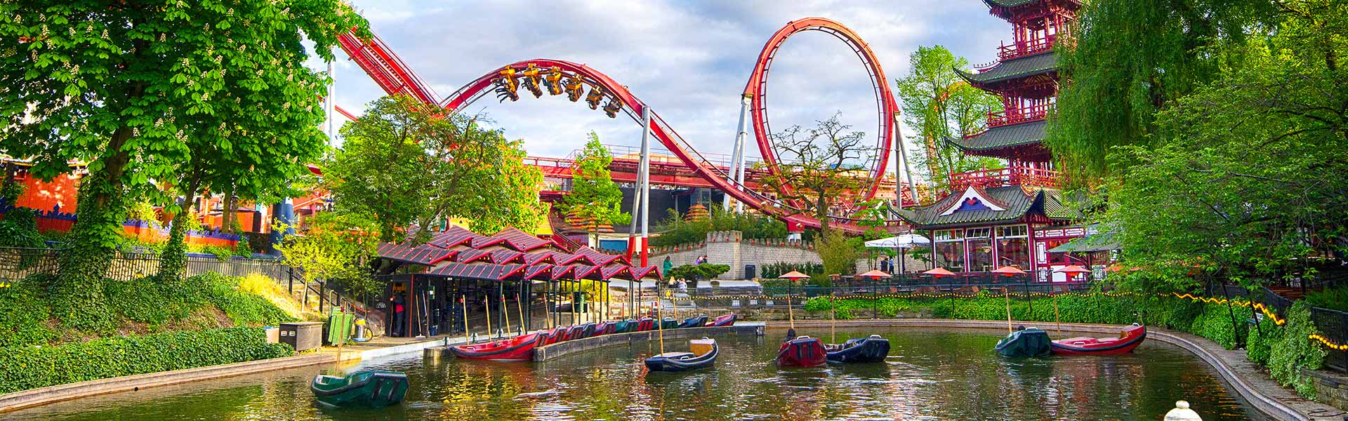 Abschalten, Spaß haben – der Tivoli Freizeitpark in Kopenhagen, Dänemark