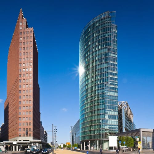 Immer eine Reise wert: Der Potsdamer Platz in Berlin