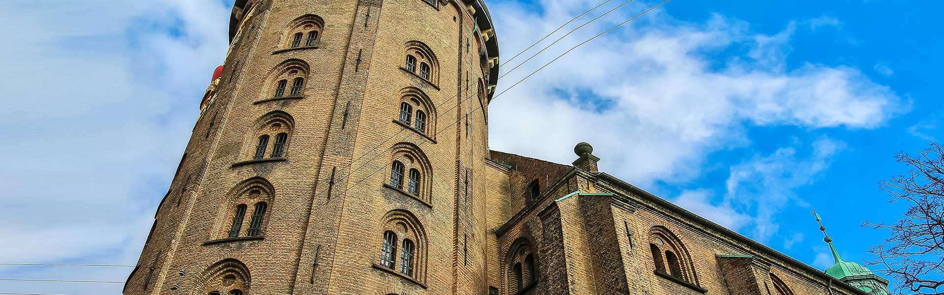 Immer einen Ausflug wert bei gutem Wetter in Kopenhagen: Runder Turm
