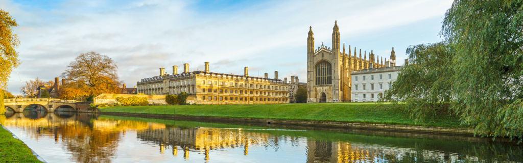 Besuchen Sie die Stadt Cambridge mit der berühmten Universität
