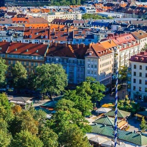 Einkaufen mit Stil, kulinarisches entdecken: auf dem Viktualienmarkt in München