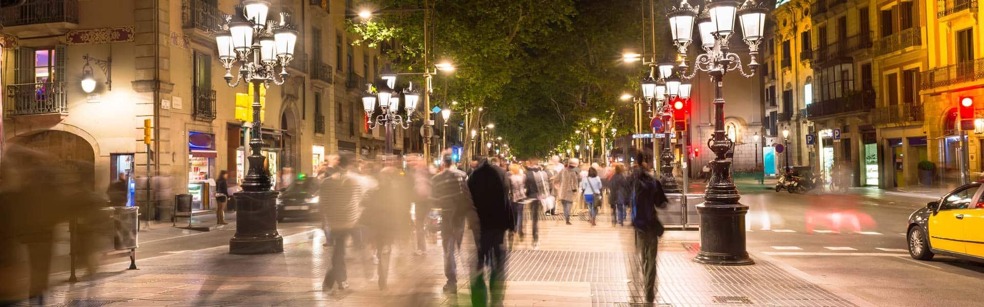 Shoppen und staunen: die Las Ramblas in Barcelona