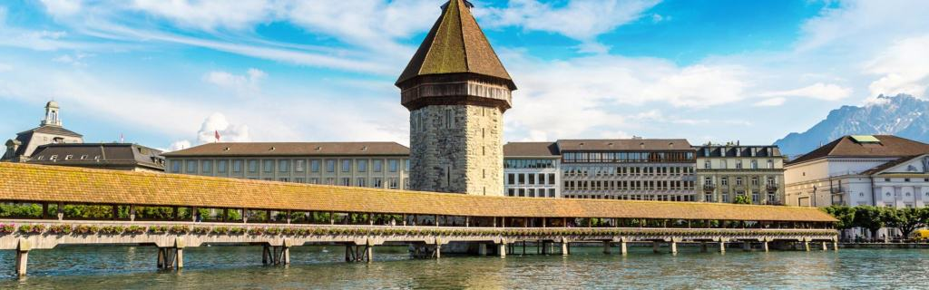 Seit ca. 1365: die älteste Holzbrücke der Welt, die Kapellbrücke Luzern