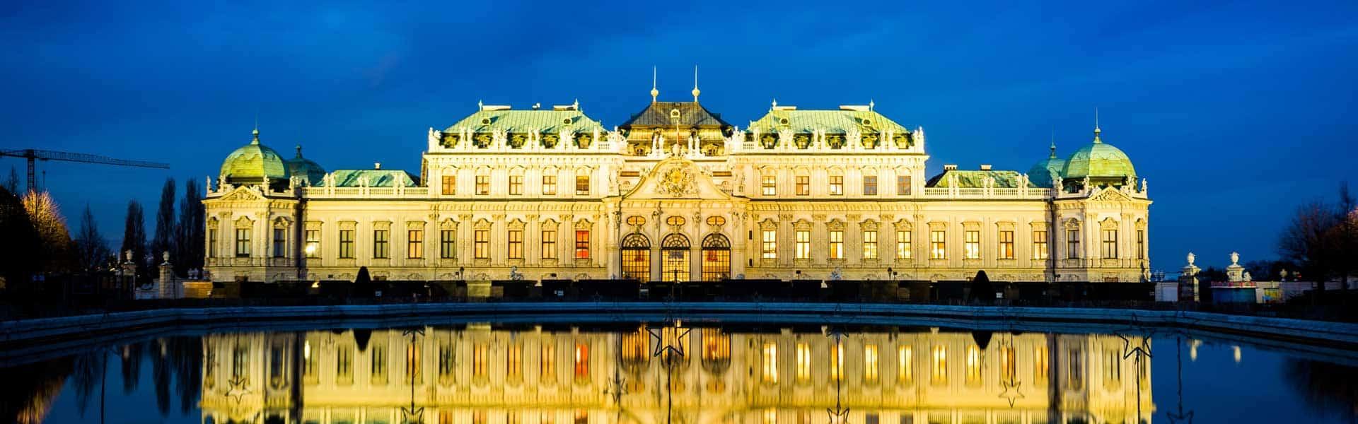 Bei schöner Aussicht Kunst und Geschichte erleben: Das Schloss Belvedere in Wien