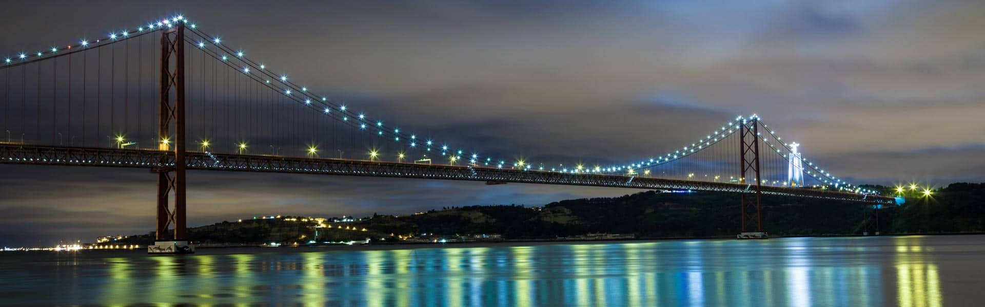 Besuchen Sie die Lissabon Brücke, die Brücke des 25. April in Lissabon