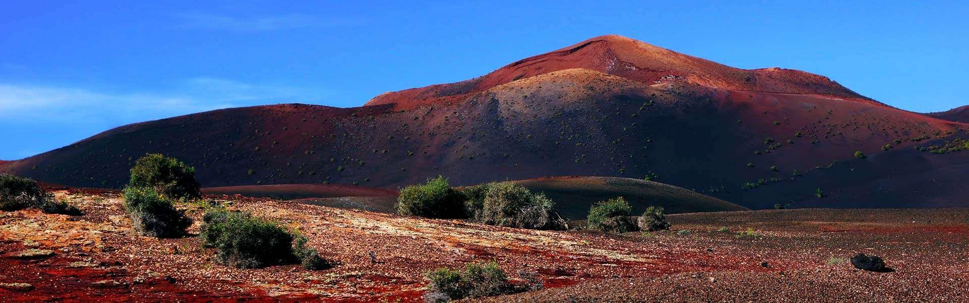 Beeindruckende Natur: Timanfaya Nationalpark auf Lanzarote