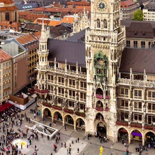 Stadtgeschichte erleben: der Marienplatz in München