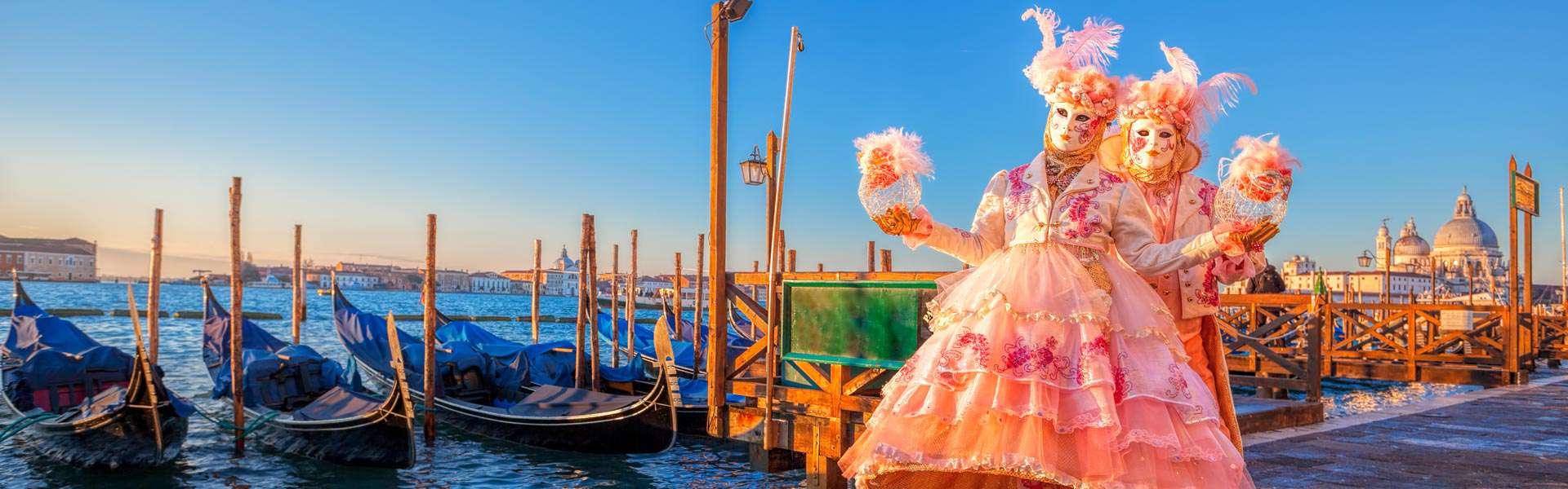 Magische Momente, barocke Kostüme: Karneval in Venedig