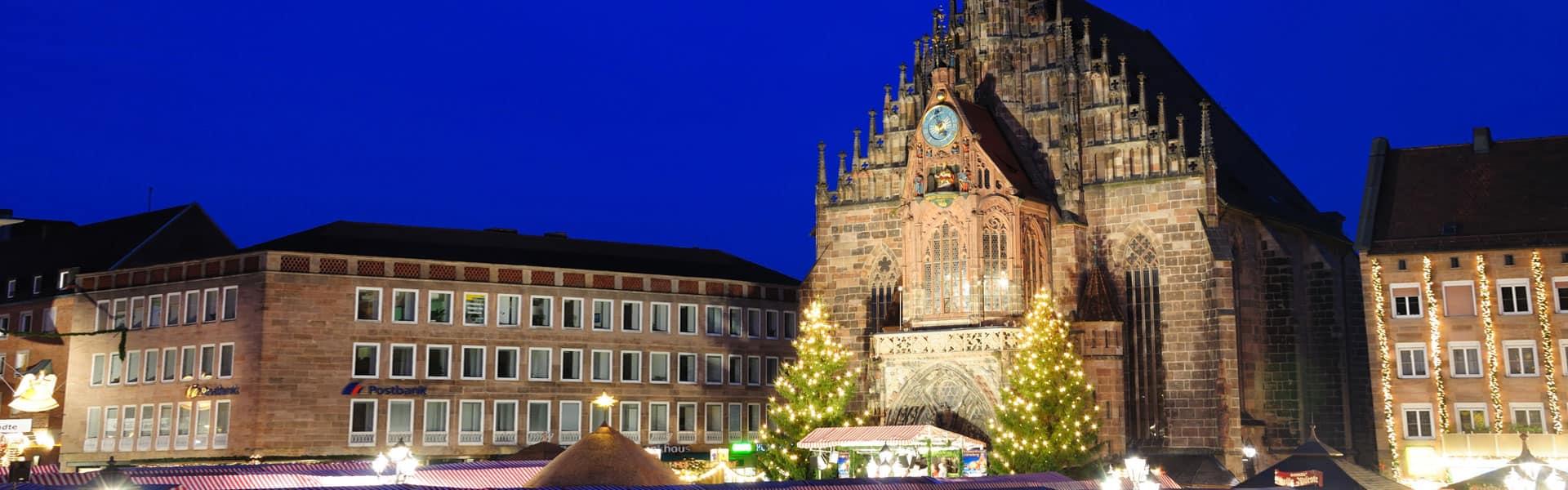 Die Seele baumeln lasse und genießen: der Christkindlesmarkt in der Nürnberger Altstadt
