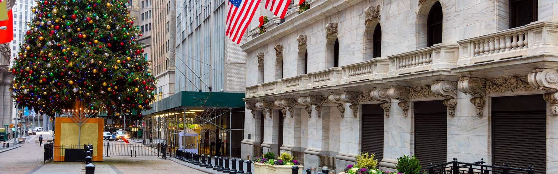 Deck the halls! Christmas-Shopping New York