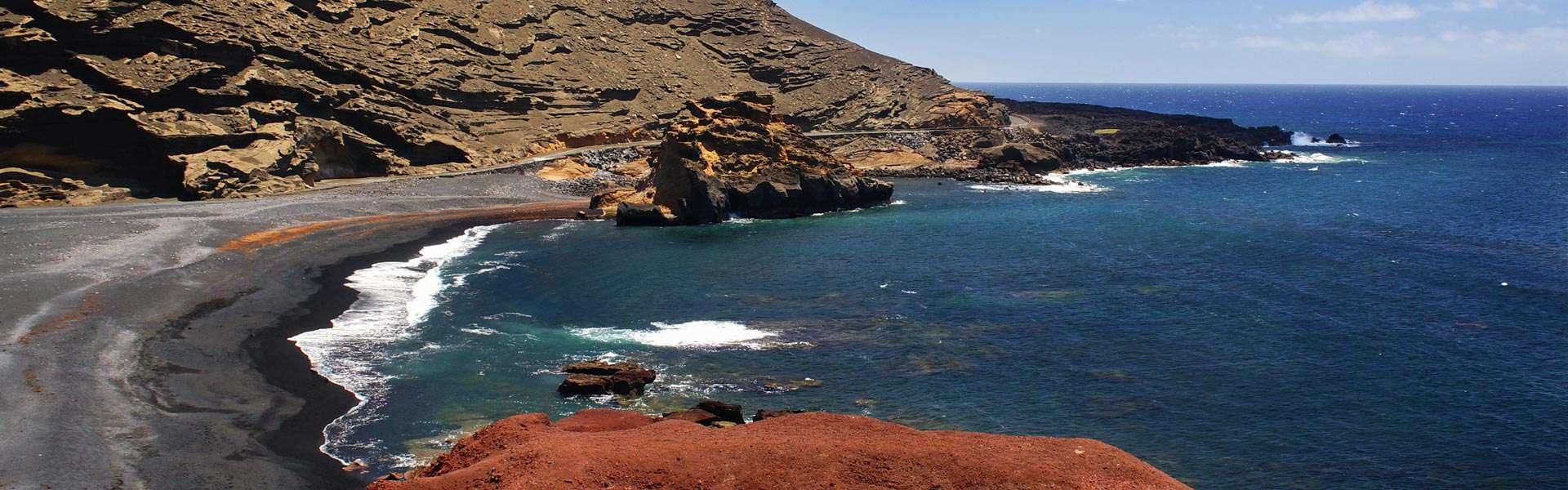 Kleines Fischerdorf, große Delikatessen: El Golfo auf Lanzarote