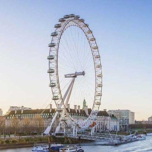 Riesig! Das London Eye in Großbritannien