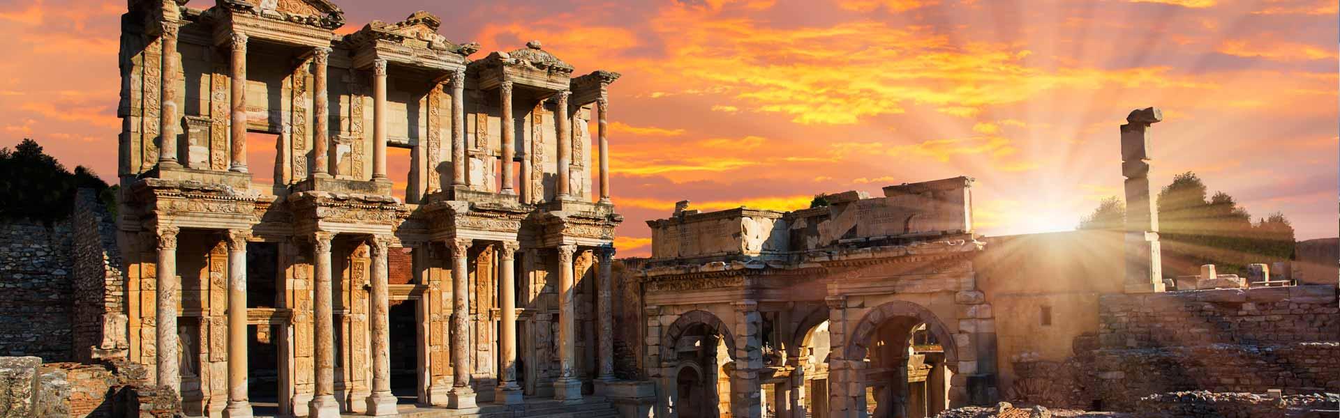 Beeindruckend schön: die Ruinen von Ephesus