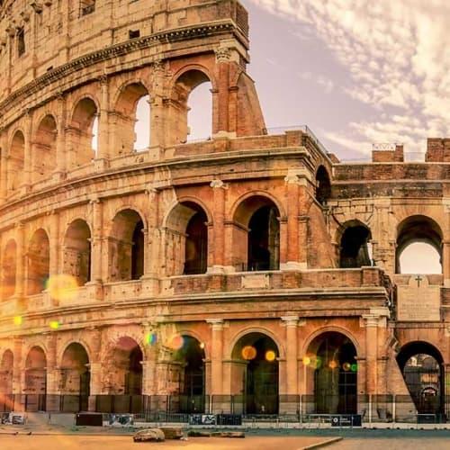 Das einzige der Sieben Weltwunder in Europa: Das Kolosseum in Rom
