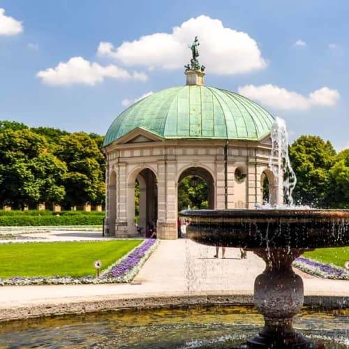 Schleuder, staunen, genießen: Englischer Garten in München
