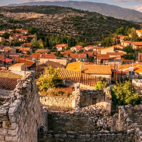 Blick über Limassol