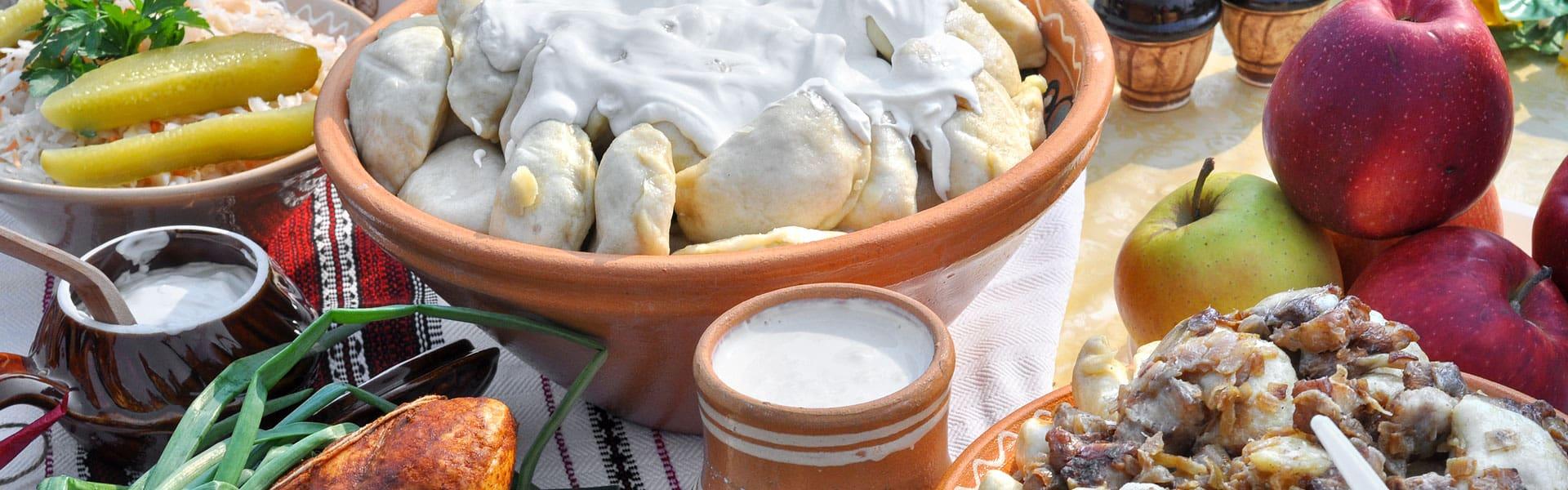 Zur Fußball-EM die ukrainische Küche genießen