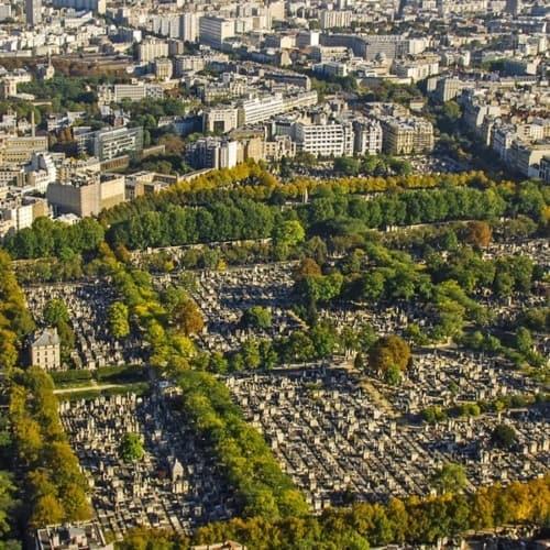 Blick auf Montparnasse Paris