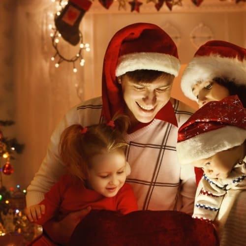Weihnachten im Ferienhaus von Center Parc