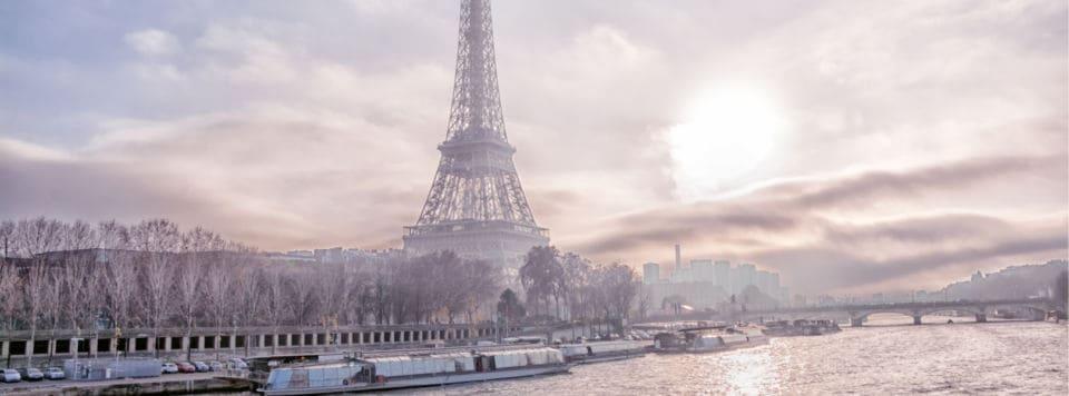 Winterurlaub Frankreich - Blick auf den Eifelwurm im Winterurlaub