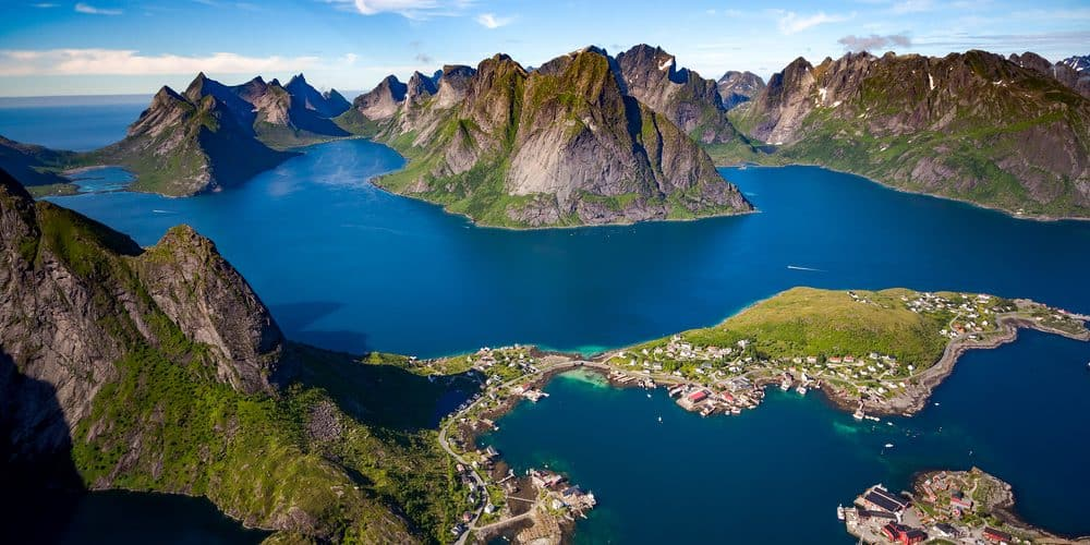 Die Lofoten in Norwegen