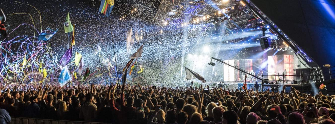 England Sehenswürdigkeiten in Glastonbury ist das Musikfestival