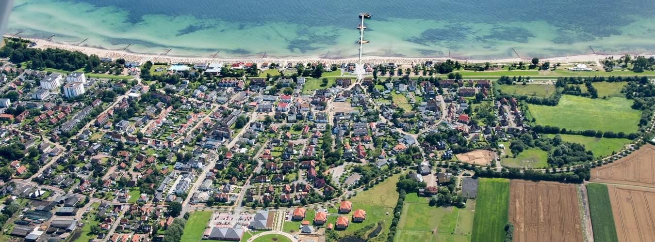 Ostseeinseln in Deutschland - Blick auf die Insel Fehmarn