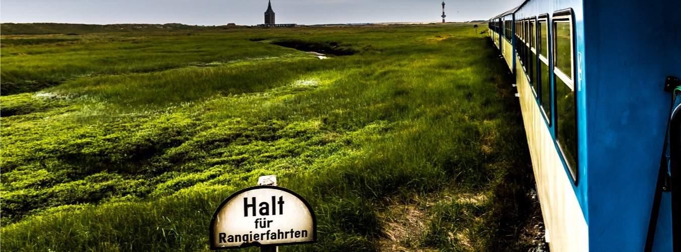 Inselbahn auf Wangerooge