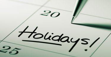 Brückentage 2019 - Urlaub in den Kalendar eintragen