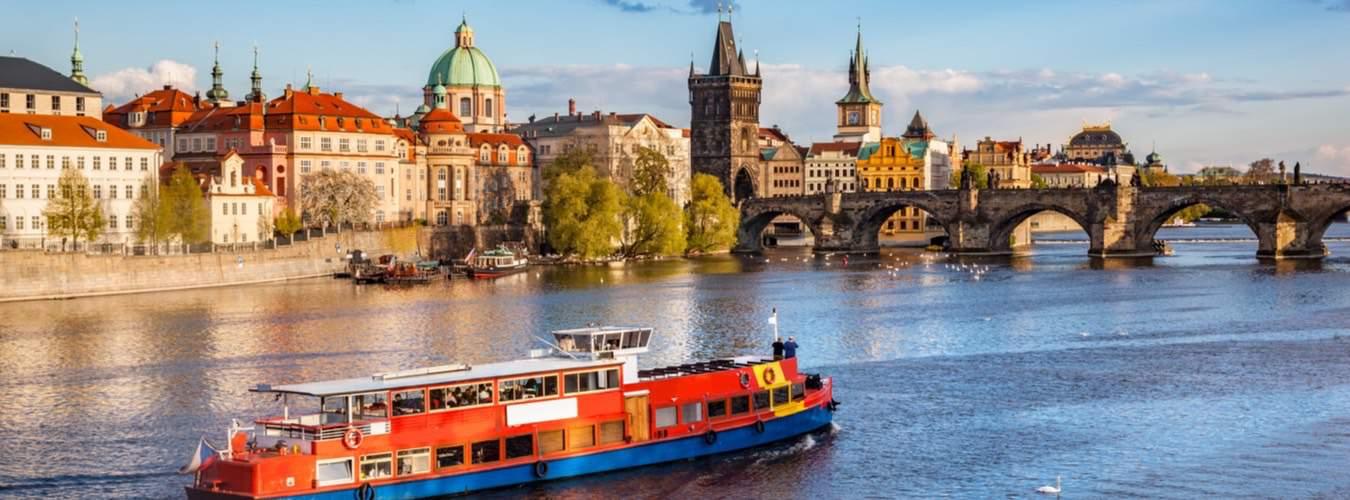 Tschechien Sehenswürdigkeiten - Blick auf Prag