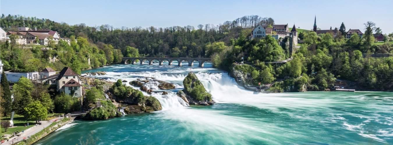 Schweiz Sehenswürdigkeiten - Der Rheinfall