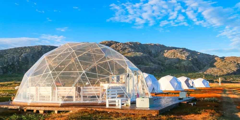 Glamping steht für einen luxuriösen Campingurlaub